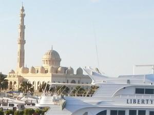 Ägyptische Triangel: Religion, Tourismus, Freiheit.                 Foto: psk