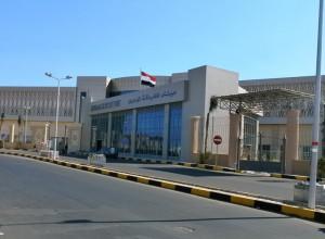 Hafen-Terminal in Hurghada