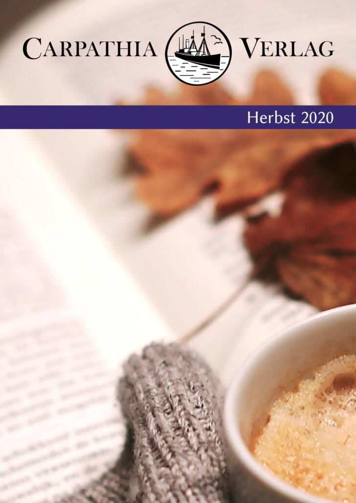 Cover Herbstvorschau 2020