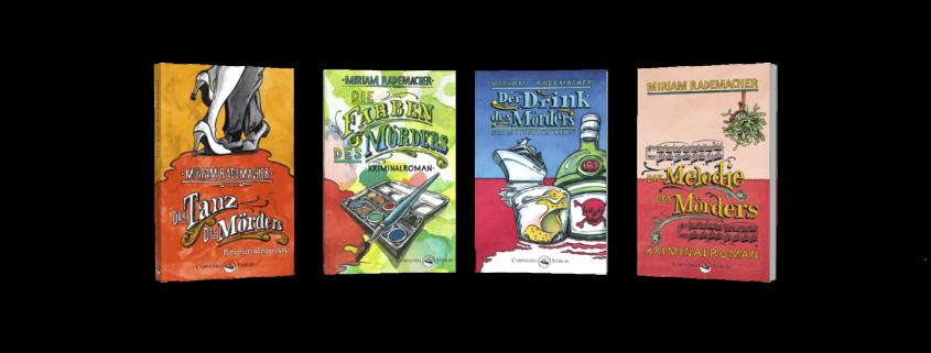 Die Kriminalromane der Colin-Duffot-Reihe von Miriam Rademacher